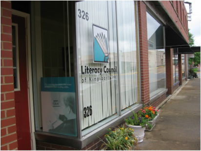 Picture of outside of Literacy Council building